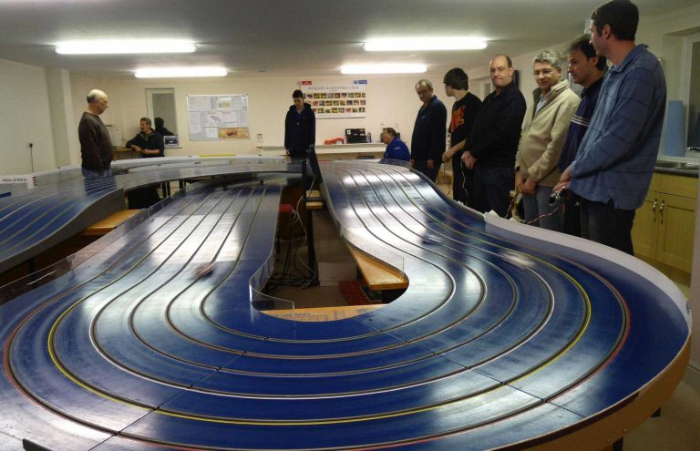 Molesey Scalextric Club slotfire track