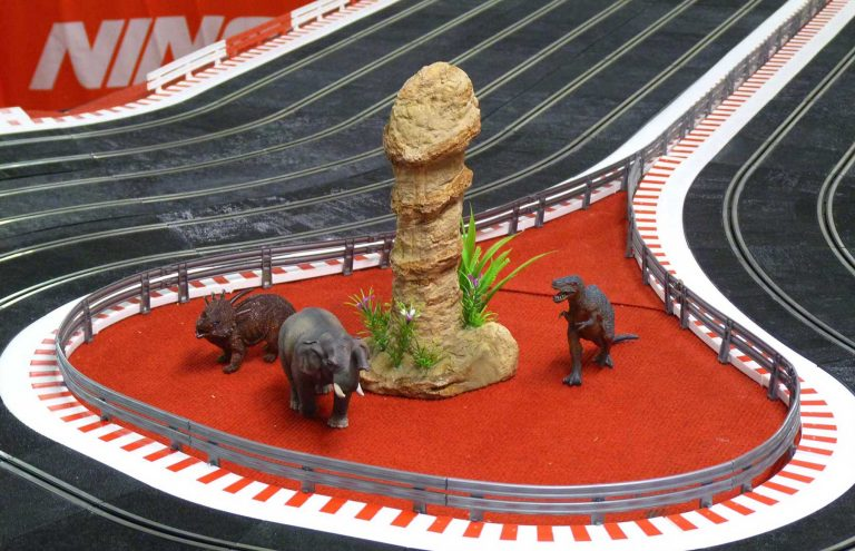 Molesey Scalextric Club Ninco track