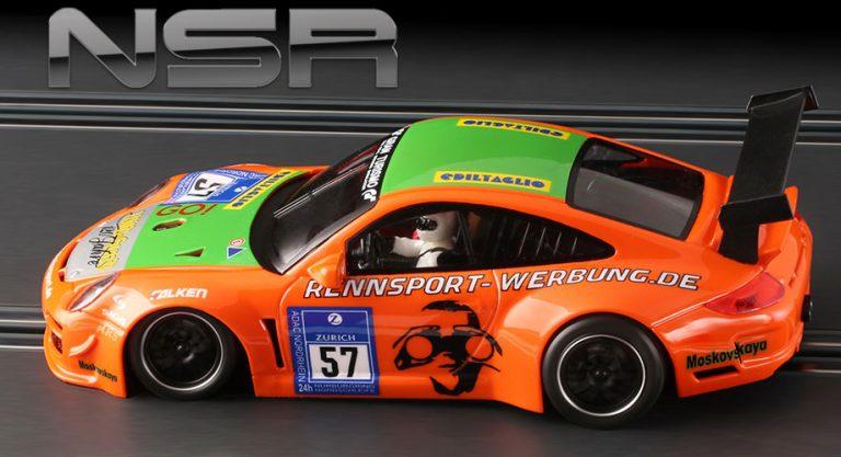 NSR 0110 Porsche 997 slot car