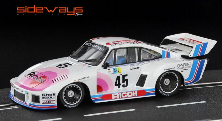 Sideways SW45 Porsche Kremer 935 K2 slot car