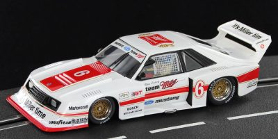 Sideways SW46 Ford Mustang Turbo slot car
