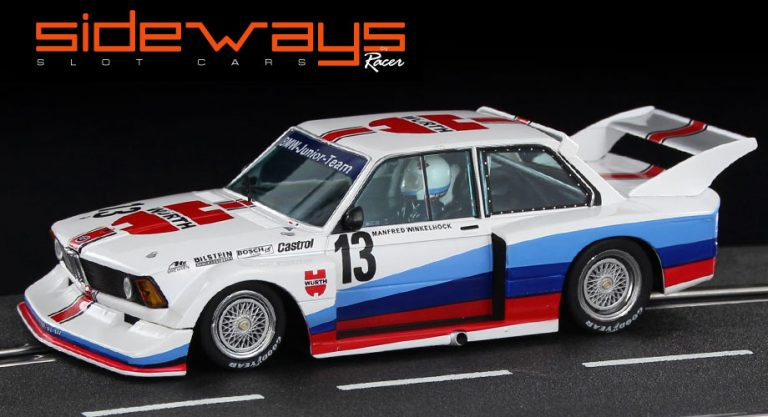 Sideways SW58A BMW 320 slot car