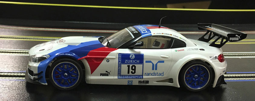 Scaleauto BMW Z4 GT3 on track