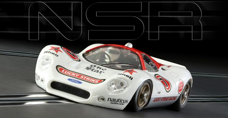 NSR 0109 Ford P68 Lucky Strike slot car