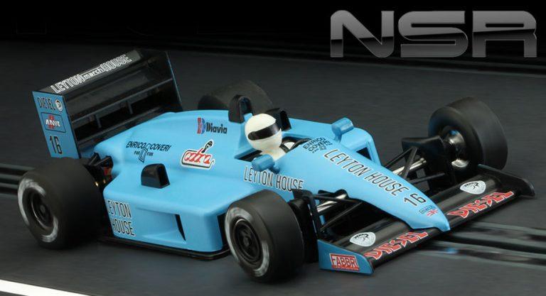 NSR 0126 Formula 86/89 Leyton House slot car