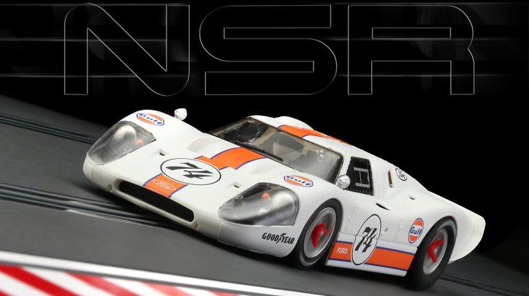 NSR 0174 Ford Mk IV slot car