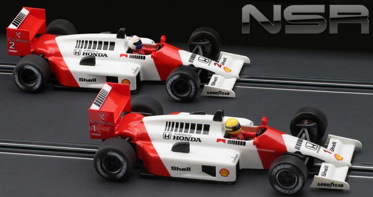 NSR Set11 Mclaren Honda Formula 86/89 slot cars