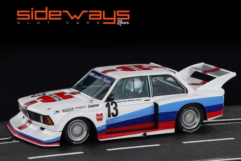 Sideways SW58A BMW 320 slot car